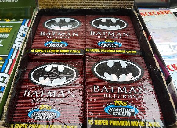 Batman Returns trading cards