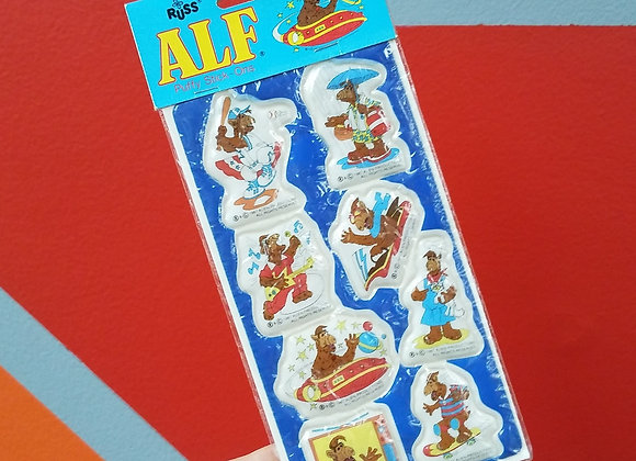 ALF - Vintage Puffy Stickers - New In Package