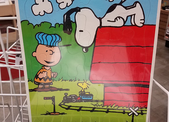 Vintage Peanuts Frame Tray Puzzle - Factory Sealed