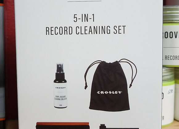 Crosley - 5 In 1 Record Cleaning Kit