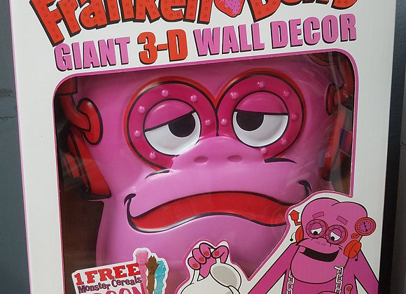 Frankenberry Giant 3-D Wall Decor