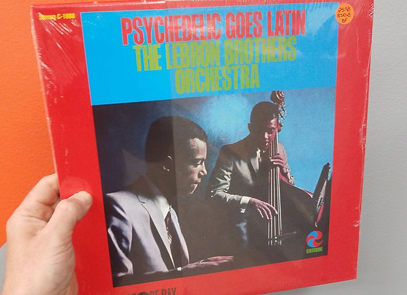 The Lebron Brothers - Psychedelic Goes Latin LP