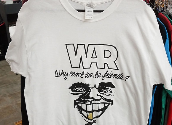 War - Why Can't We Be Friends Concert t-shirt