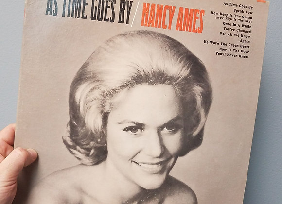 Nancy Ames - As Time Goes By - LP