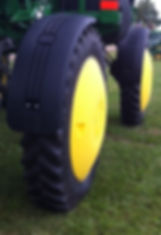 Hub Cover, wheel shield, customagconcepts, self propelled sprayer