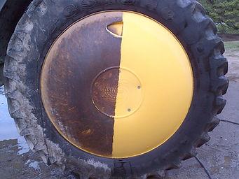 Hub Cover, wheel shield, customagconcepts, self propelled sprayer