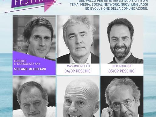 Gargano Media Festival con Giletti, Marcorè, Vissani, Sacchi e Veltroni
