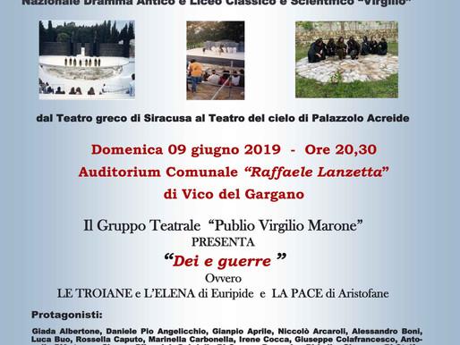 XXV Festival Internazionale del Teatro Classico dei Giovani