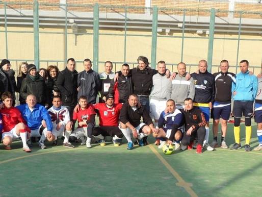 Il Foggia calcio fa visita al Carcere cittadino