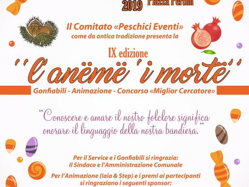 """A Peschici trionfa la tradizione con """"l'anëmë 'i mortë"""", altro che halloween..."""