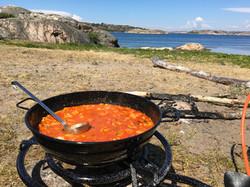 Matlagning på ö