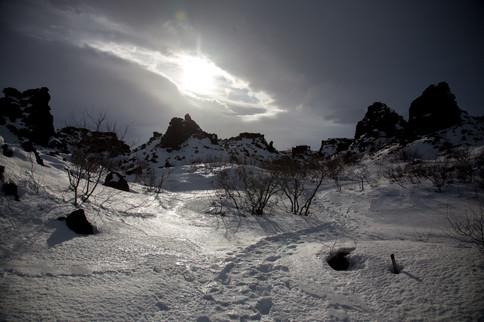 FROZEN LAND, ICELAND