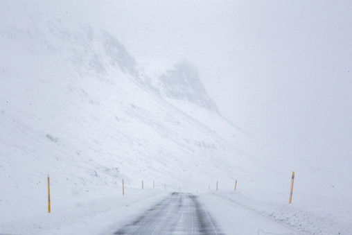 WHITE OUT, ICELAND