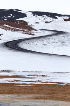 LONG AND WINDING ROAD, ICELAND