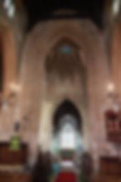 St John the Baptist church nave