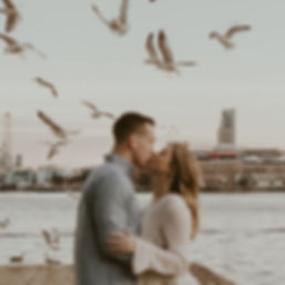 Nick + Christen - the weather is perfect