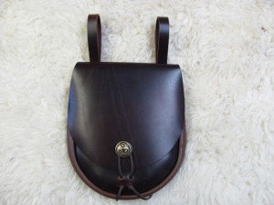 Leather Hanging Pouch