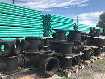 MJ Fittings,Restraints, Ductal Iron Pipe, Sewer PVC Pipe, Water PVC Pipe