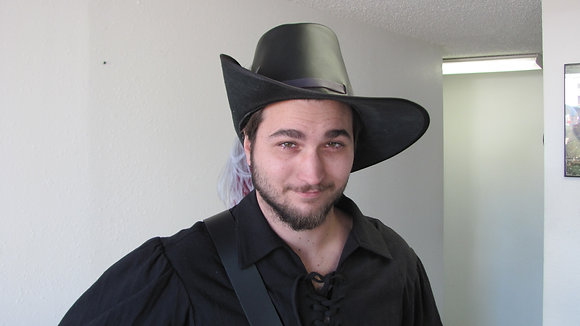 Cavalier Leather Hat
