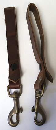 Leather Sporran Suspenders