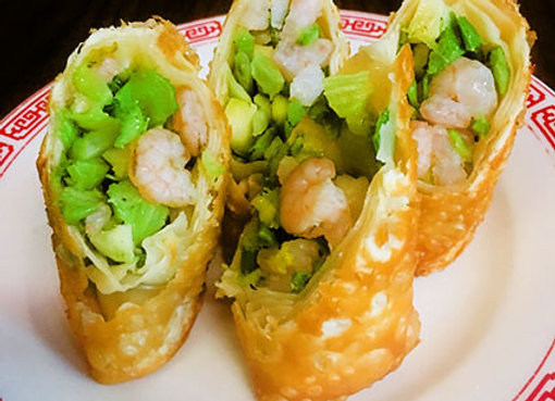 Twenty (20) Shrimp Egg Rolls (4oz)