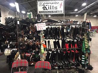 Kilts at the Scottish Tartan Festival in Louisianna
