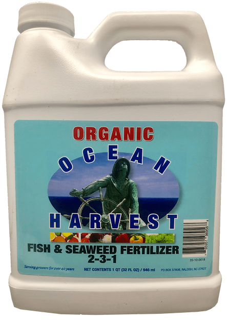 Fish & Seaweed Fertilizer bottle (Large)