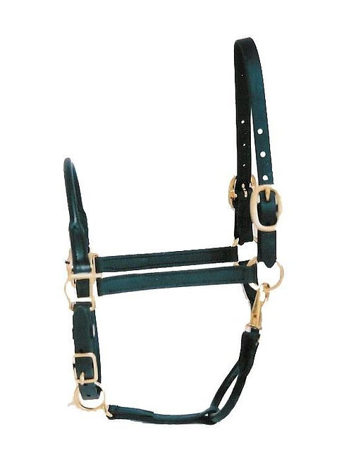 Rolled Nose Leather Stable Halter