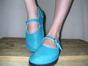 Ladies Handmade Leather Mary Jane Shoes