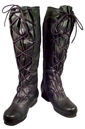 Strider Lace Leather Boots