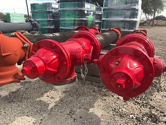 Couplings, Tapping Sleeves, Fire Hydrants, Gate Valves