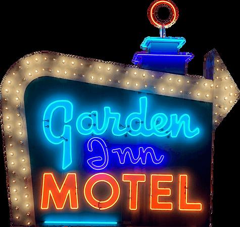 Garden Inn Motel - Scrolling Billboard.p