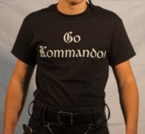 """Go Kommando!"" T-Shirt"