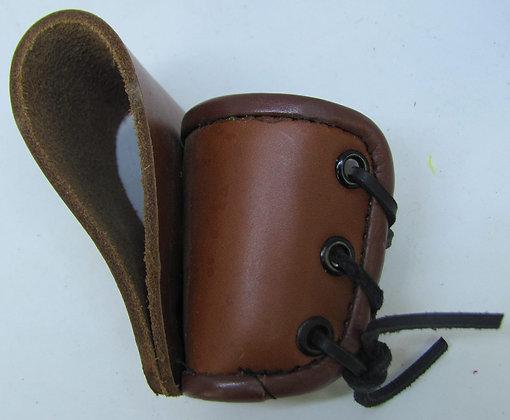 Leather Shot Glass Holder