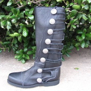 Queen Isabella Leather Boots