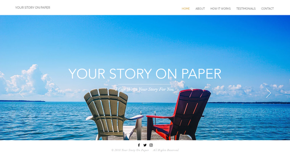 Your Story on Paper