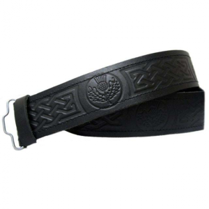Military Style Leather Belt