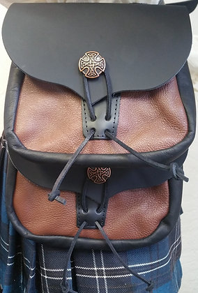 Leather Double Pouch