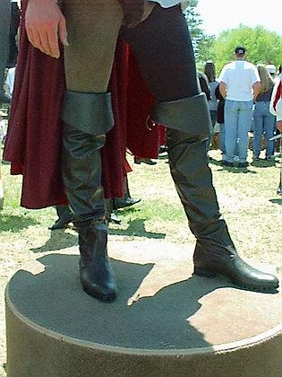 Mens Blackbeard Leather Boots
