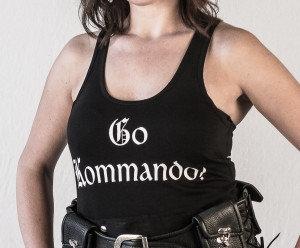 "Ladies ""Go Kommando!""Tank Top"