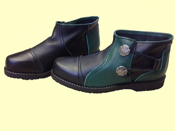 Mens King Richard Ankle Boots with 2 Conchos