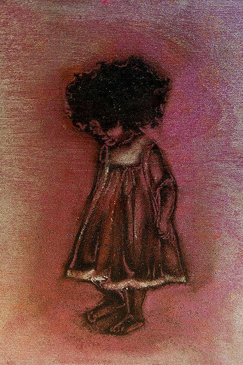 "Baby Hair (Inner Child)  Prints 5x7"""
