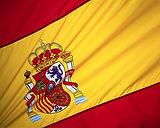 escola de línguas, cursos de espanhol. bandeira de espanha