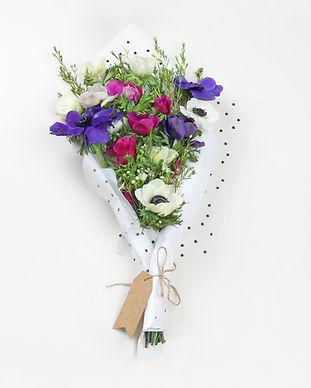 Violet Flower Bouquet