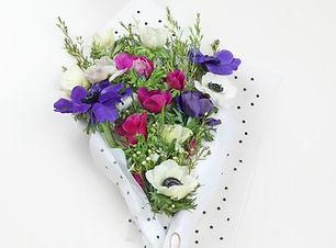 Violet Blumen-Blumenstrauß