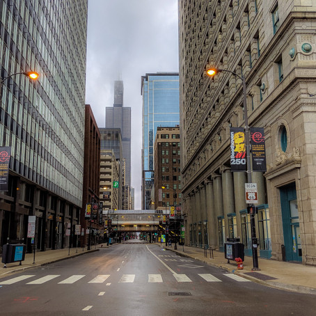 Downtown Chicago Shelter in Place