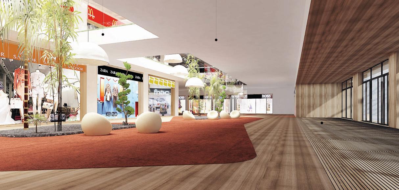 Projecto de licenciamento de Centro Comercial / Retail Park em Luanda, Angola; (projecto em colabora