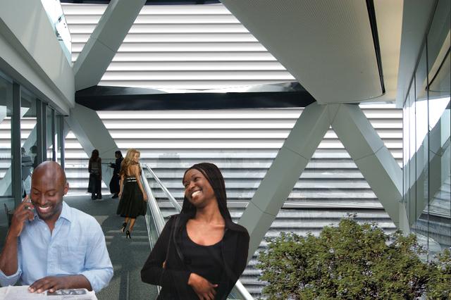 Concurso para Edifício de Escritórios em Luanda, Angola; (projecto em colaboração)