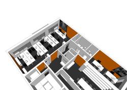 Proposta de remodelação e mobiliário para Escritórios_Lisboa;