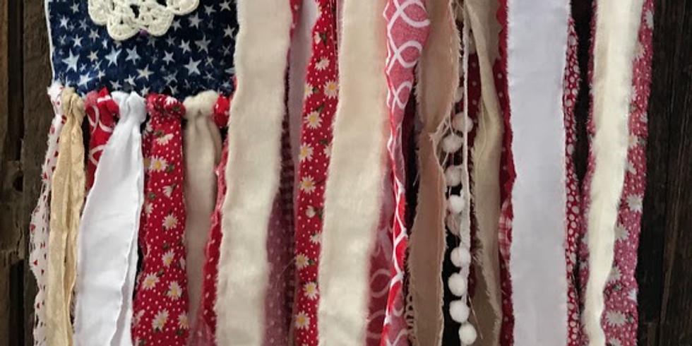 Shabby Vintage Flag Workshop